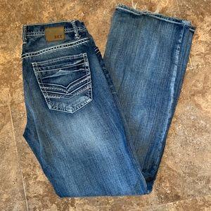 BKE Men's Tyler Jeans 34 XL (36 Inch Inseam)